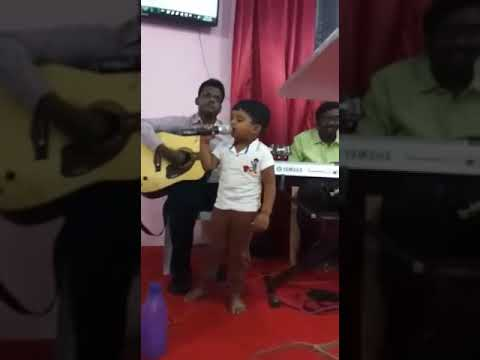 Little Super star Singing for Christ- Beer Lahai Roi