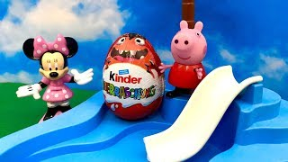Świnka Peppa i Myszka Minnie ♦ Ciekawe Jajko Niespodzianka ♦ Bajka dla dzieci PO POLSKU