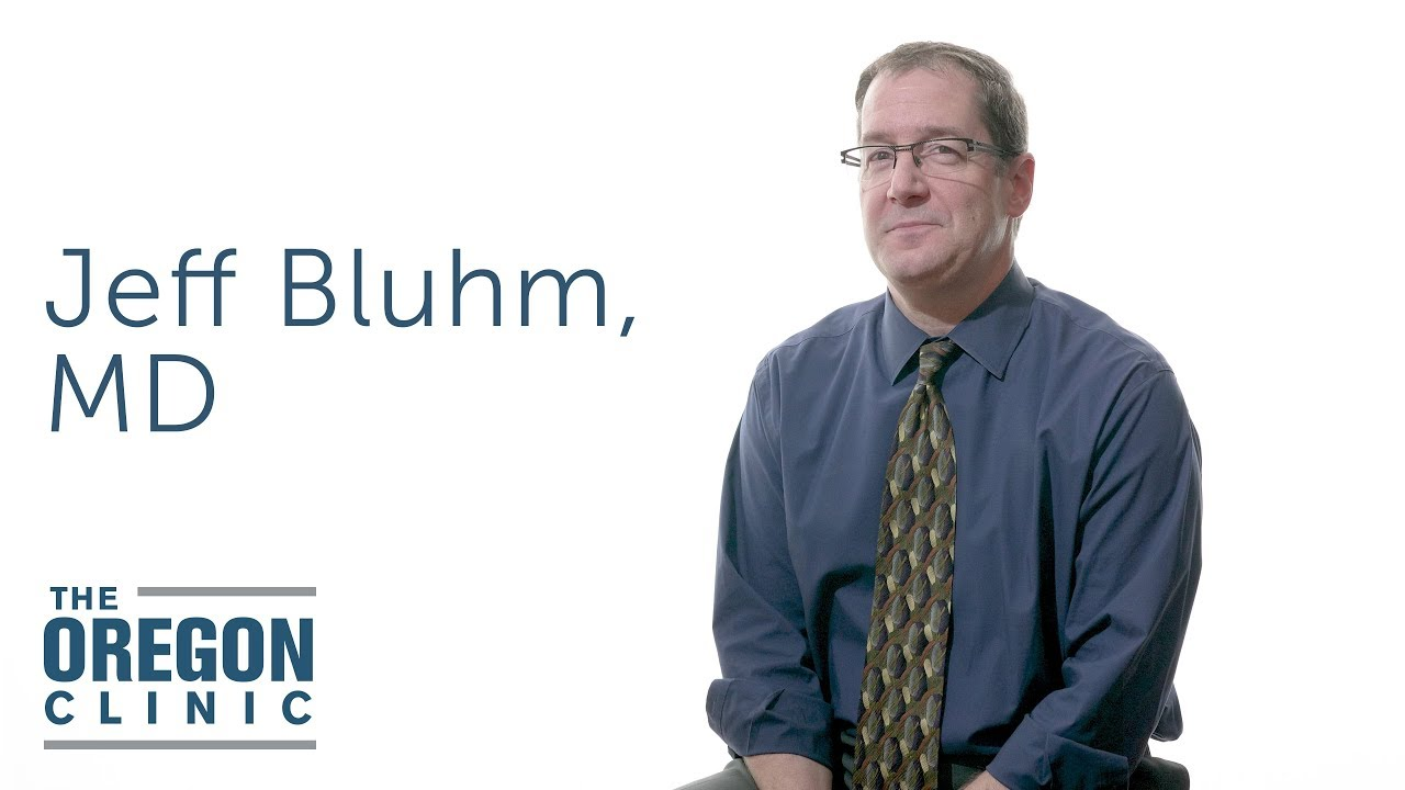 Jeffrey M  Bluhm, MD, FCCP, FAASM, D-ABSM | The Oregon Clinic