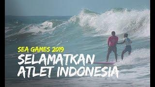 Video Aksi Heroik Peselancar Filipina Selamatkan Atlet Indonesia Yang Jatuh Di Laut Rela Lepas Emas