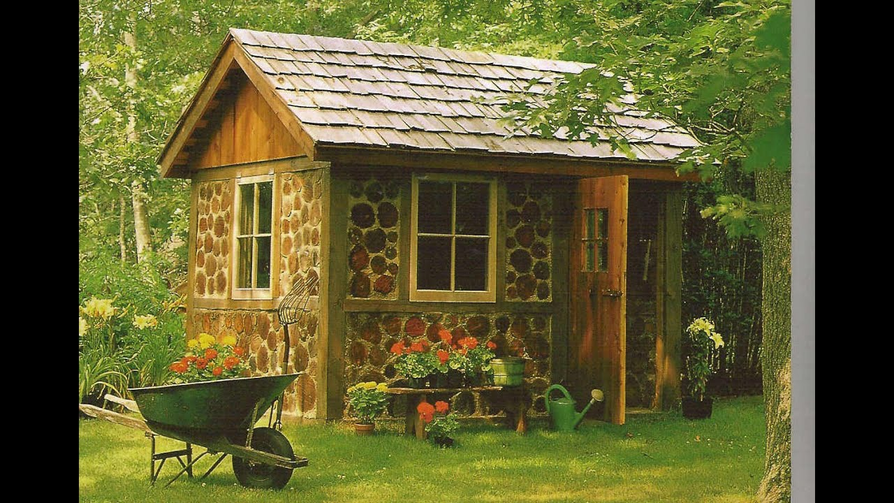Garden shed designs youtube for Outside buildings design