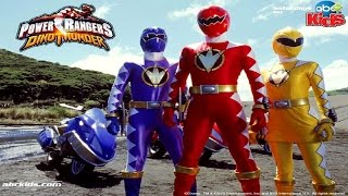 Power Rangers Dino Thunder Walkthrough Complete Game Movie