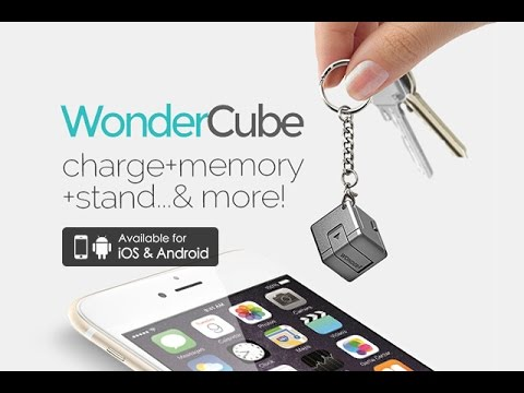 This amazing 1-inch cube fits on your keychain and may be the only smartphone accessory you'll ever need