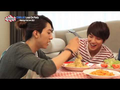 [ENG SUB] CNBLUE Love On Party BTS - Jungshin Version