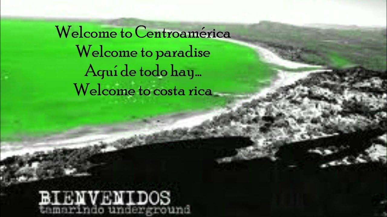 la cancion de yaco welcome to costa rica