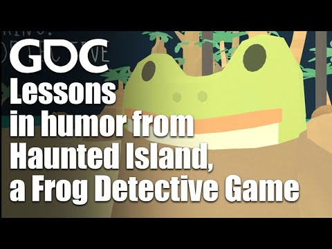Building Games Around Humor: Lessons from The Haunted Island, a Frog