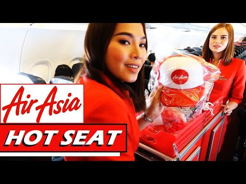 HOT SEAT | Air Asia A320 to Kuala Lumpur