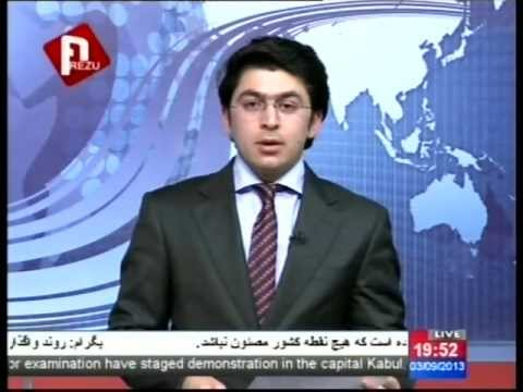 AREZU TV Afghanistan, Dari news 9/03/2013