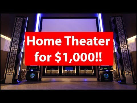 Home Theater for About $1,000!!