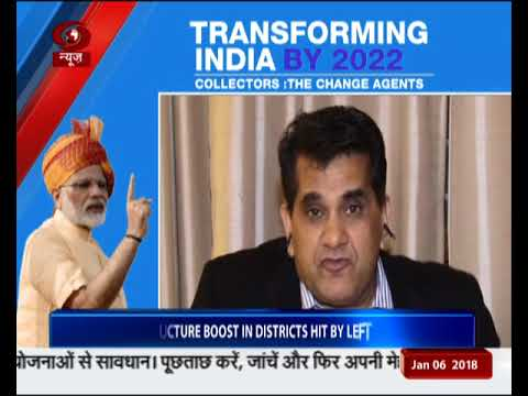 NITI Aayog CEO Amitabh Kant speaks exclusively to DD News
