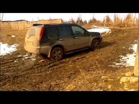 nissan x trail off road petresti youtube. Black Bedroom Furniture Sets. Home Design Ideas