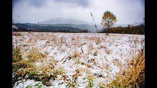 Pierwsze opady śniegu - 29 października 2017