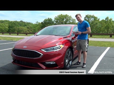 Review: 2017 Ford Fusion Sport