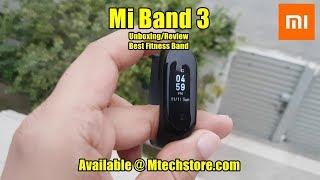 Mi Band 3 Fitness Wrist Smart Band Review By M-Tech URDU/HINDI
