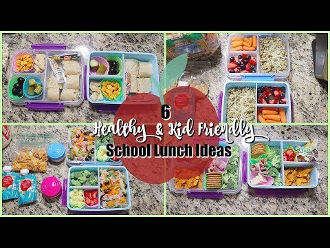 6 Easy Kid Friendly Healthy School Lunch Ideas