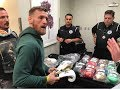 CONOR GOES W/EVERLAST POWER LOCK! PICS OF GLOVE SELECTION!