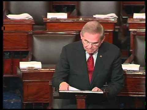 Senator Menendez Urges Colleagues to Oppose Blunt Amendment on Senate Floor