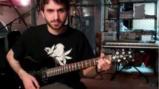 The Postal Service - The District Sleeps Alone Tonight (Guitar Lesson) [1 of 2]