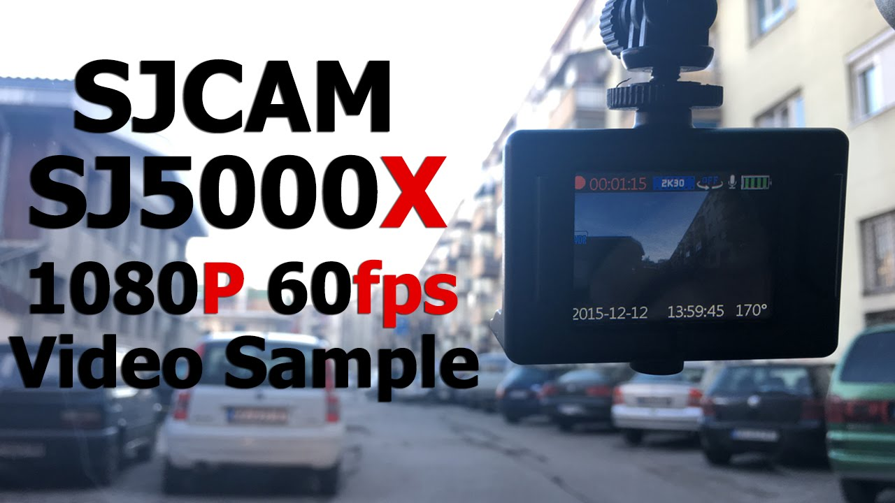 SJCAM SJ5000X Video Sample | 1080P 60FPS - YouTube