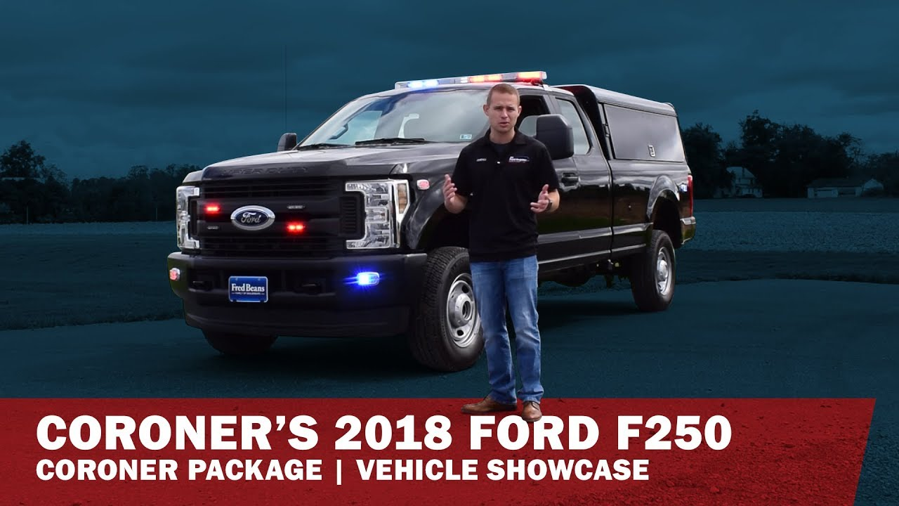 coroners truck  ford  rr youtube