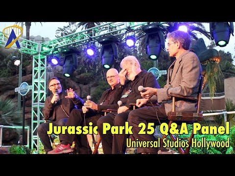 Jurassic Park 25th Anniversary Celebration Q&A Panel at Universal Studios Hollywood