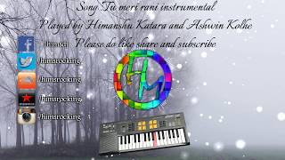 Tu meri rani instrumental   Tumhari sulu   Guru Randhawa   Himanshu Katara   Ashwin Kolhe