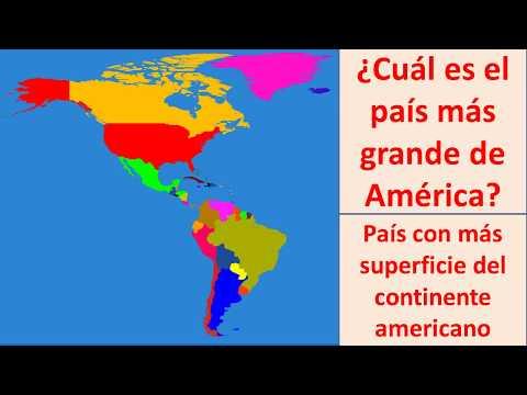 cual es el pais mas grande de America