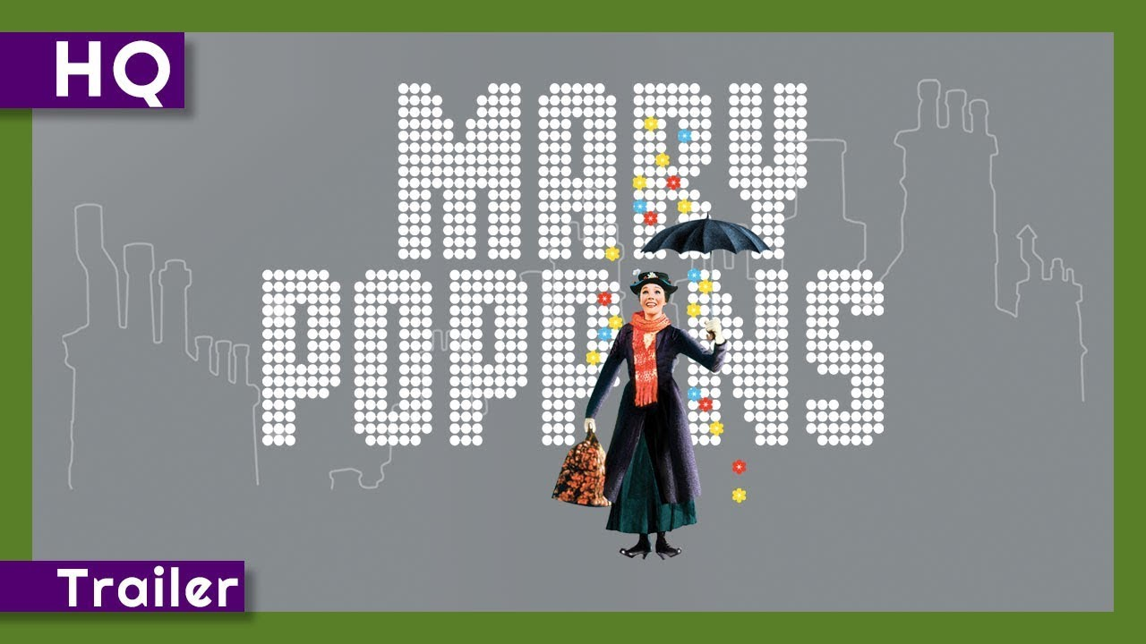 Mary Poppins (1964) Trailer