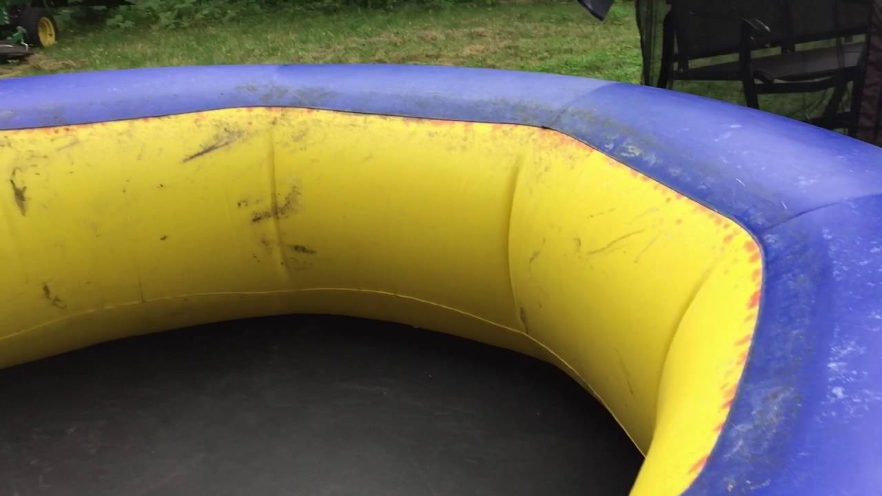 Life Hack: Easily find the leak in an inflatable object   YouTube