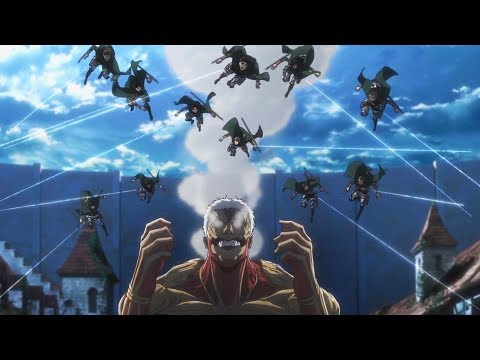 Eren Vs Reiner Round 2 - Shingeki no Kyojin Season 3 Part 2 - AMV