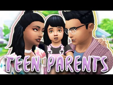 TEEN PARENTS | THE SIMS 4 | PART 5 - A NEW HOME!