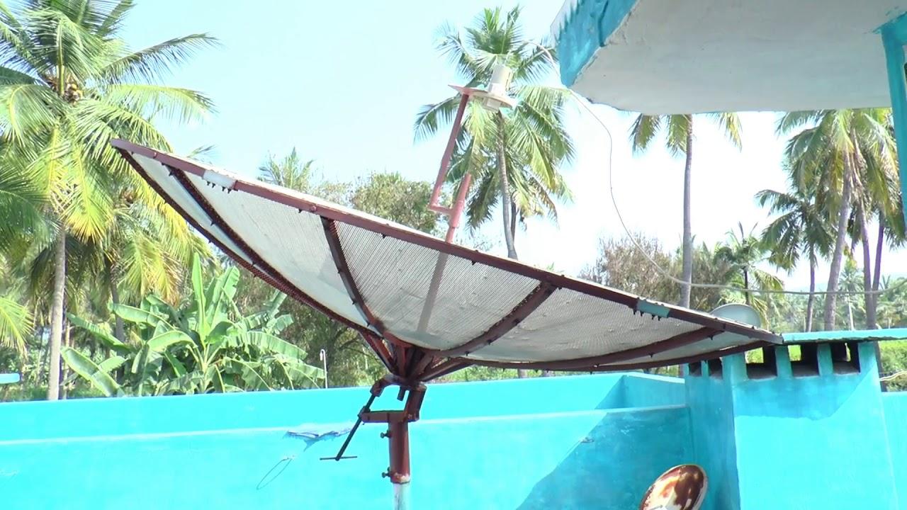 Intelsat 17 66 East dish setup in Tamil