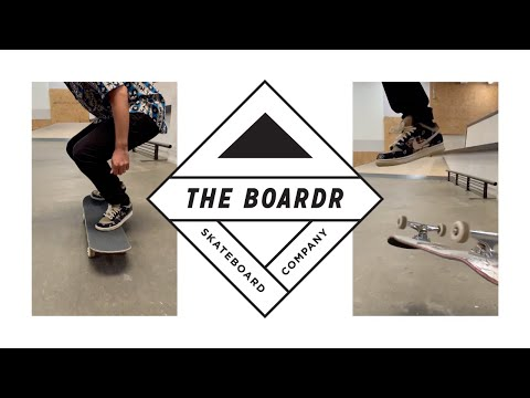 Porpe at The Boardr Switch Flips in Travis Scott Dunks