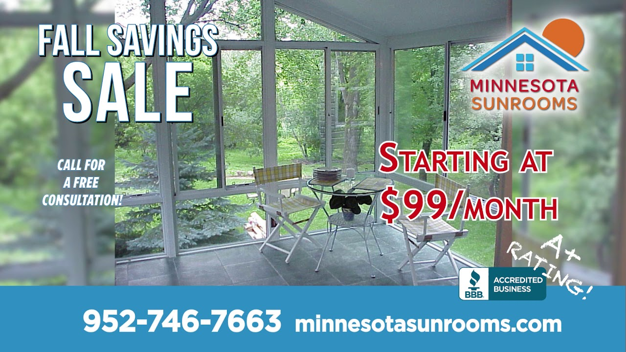 Minnesota Sunrooms – Bring the Beautiful Minnesota Outdoors In