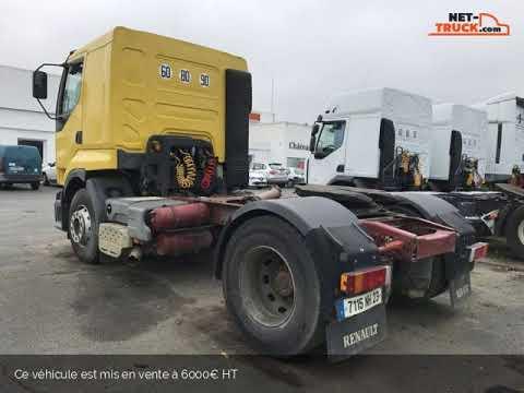 camion tracteur renault premium 400 boite de vitesse en panne chateauroux poids lourds s a. Black Bedroom Furniture Sets. Home Design Ideas