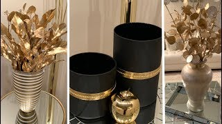 New 2020 Decorating Ideas||💕Metallic Gold Accents || Modern Glam💕
