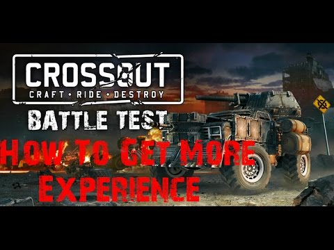 Crossout | How Increased Reputation Gain Parts Work | How To Gain More Experience | Fuel Barrel