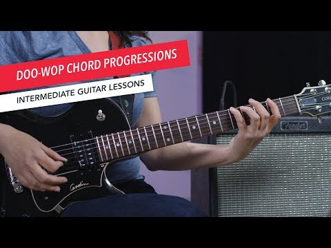 How to Play Guitar: Doo-Wop Era Chord Progressions   Intermediate   Guitar Lessons