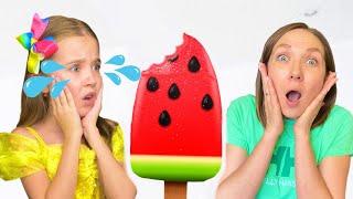 Маша и Мама и истории с мороженым