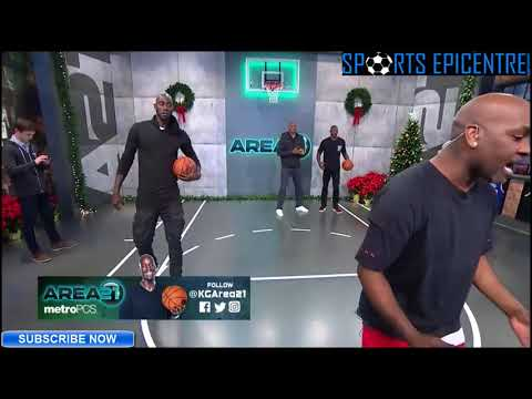 Gary Payton Shows How To Guard Allen Iverson