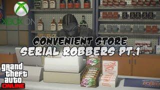 GTA 5 Next Gen- Convenience Store Serial Robbers PT.1 |HD|