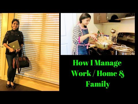 20 Simple Tips/ Habits to Manage Work & Home I RealLife Realhome