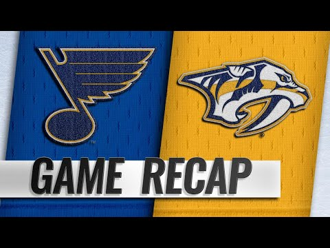 Tarasenko's hat trick propels Blues to overtime win