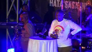 King Maluu Mpiga saxophone wa Diamond Platnumz apiga saxaphone na kisha kuombewa Kanisani