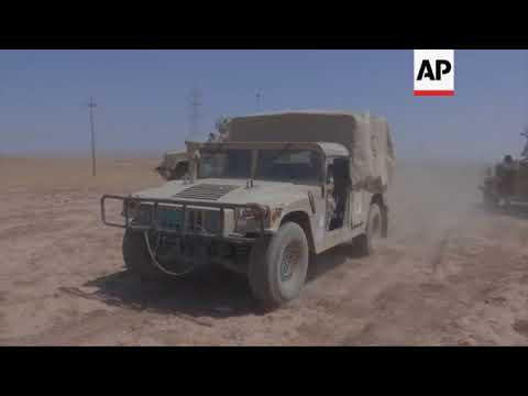 Iraqi forces capture IS group positions near Tel Afar