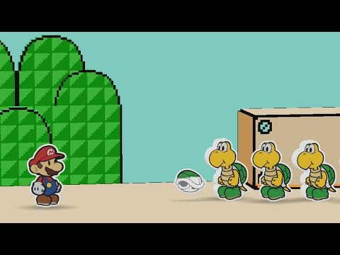 Green Energy Plant (Mini Star 1) - Paper Mario: Color Splash Walkthrough
