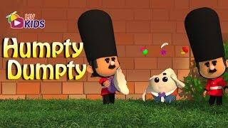 Humpty Dumpty Sat On A Wall with Lyrics | LIV Kids Nursery Rhymes and Songs | HD