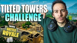 ΜΟΝΟ TILTED TOWERS CHALLENGE | Fortnite Battle Royale