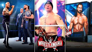 Roman Reigns VS The Rock CONFIRMED For Wrestlemania Brock Lesnar Wrestlemania 37 STREAK Over