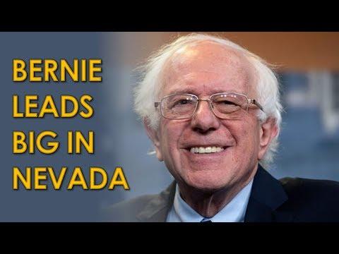 Bernie Sanders takes COMMANDING Lead in Nevada Caucuses